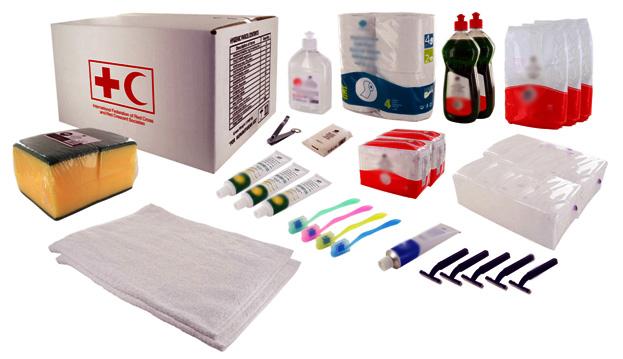 hygiene kit icrc ifrc standards group ils. Black Bedroom Furniture Sets. Home Design Ideas