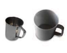 CUP, 0.3l, stainless steel or plastic